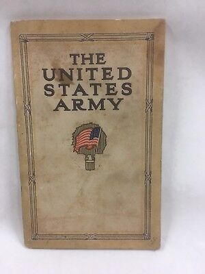 1913 The U S Army as a Career Pamphlet
