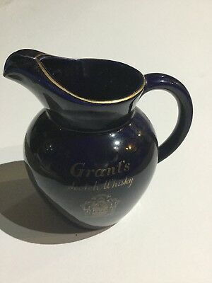 Vintage Grants Whisky Water Jug