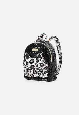 """JUSTICE Sequin Cat Mini Backpack *New with tags"""""""