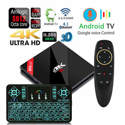 H96 pro+ Octa Core 2gb Ddr3 Voice Control Bluetooth 4.1 Dual Wi-Fi Android Tv
