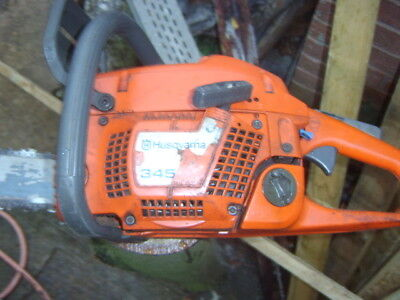 husqvarna 345 spares or repair winter project not stihl