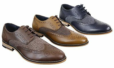 promo code e6905 ca698 Chaussures homme cuir et tweed style chic décontracté Peaky Blinders vintage