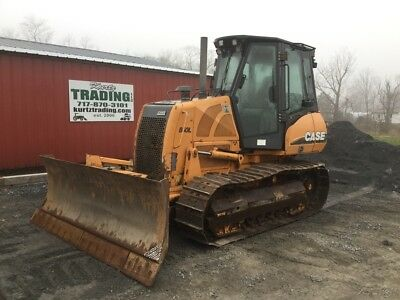2012 Case 850L XLT Crawler Dozer w/ 6 Way Blade & Cab!!