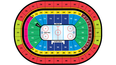 1/3/19 - Buffalo Sabres vs.Florida Panthers Section 301 row 8, 3 Tickets