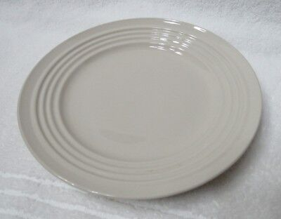 """Gibson Everyday CREAM COLOR China  8"""" SALAD PLATE with RINGS"""