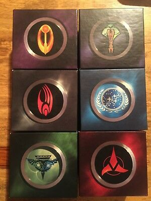Star Trek Customizable Card Game Promo Faction Boxes Tournament Only