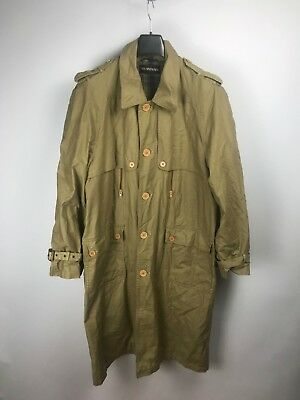 778487fd6fc VINTAGE YVES SAINT Laurent Men's Beige Trench/Rain Coat - $78.61 ...