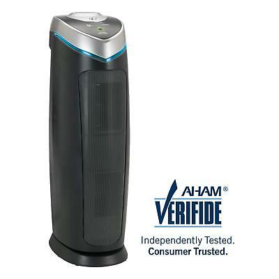 GermGuardian AC4825 3-in-1 Air Purifier with True HEPA Filter UV-C Sanitizer