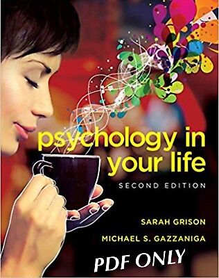 Psychology in Your Life SECOND EDITION Sarah Grison {PDF EB00K} ~ HIGH QUALITY