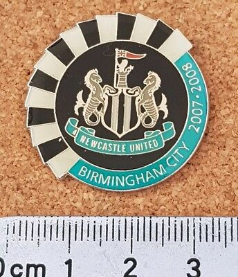 Official Newcastle United Football Match Issue Game Badge - Various Seasons