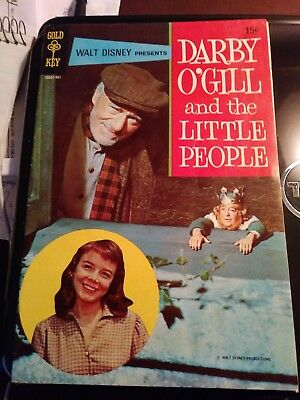 Walt Disney Pres DARBY O'GILL And The LITTLE PEOPLE in Gold Key Comic NM 1959