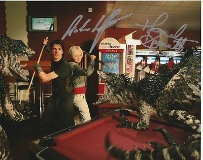 Hannah Spearritt and Andrew Lee Potts In Person Signed Photo - AG73 - Primeval