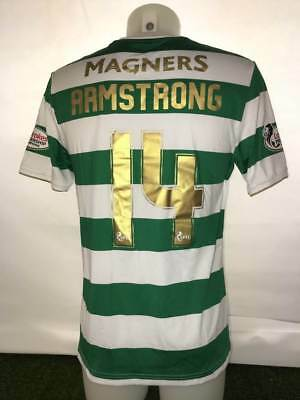Celtic Armstrong match wornissue shirt - Football Memorabilia Scotland