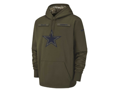 Dallas Cowboys Nike 2018 NFL Men's Salute To Service Therma Hoodie Football Fan