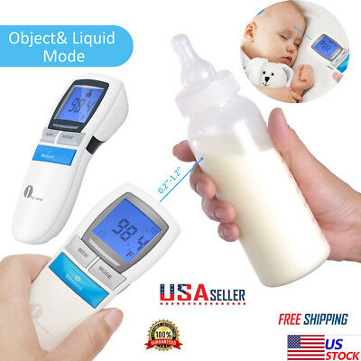 1byone New Digital Forehead Thermometer Dual Baby Adult Infrared Thermometer