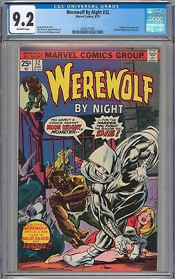 Werewolf By Night #32 CGC 9.2 NM- Origin and 1st Appearance of Moon Knight
