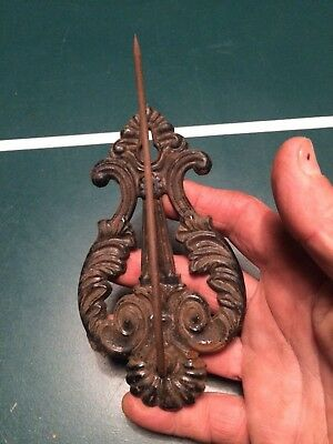 Antique cast-iron Victorian era letter holder 1800