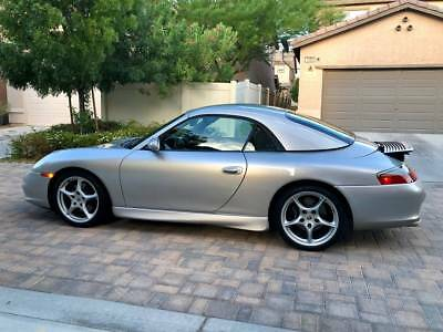 2002 Porsche 911 Carrera Cabriolet*6 SPEED MANUAL! LOW MILES * 2002 PORSCHE CARRERA 996 CABRIOLET*AUTOMATIC *** NO RESERVE ***