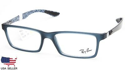 aafd0950e9 NEW RAY BAN RB8901 5262 MATTE BLUE   GREY EYEGLASSES FRAME 8901 53 ...