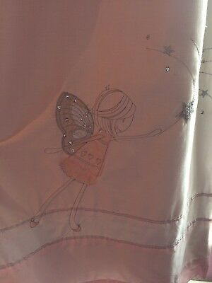 Next Fairy Blackout Curtains 168cm Width 137cm Drop