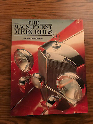 The Magnificent Mercedes Graham Robson 1981 Basingall Books Limited Edition
