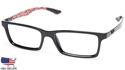 0ee6425bfc NEW Ray Ban RB8901 2000 BLACK CARBON FIBER EYEGLASSES 8901 55-17-145 B32