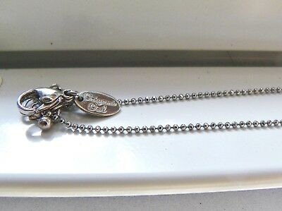 """Origami Owl 16-18"""" Silver Shimmer Cable Chain NEW"""