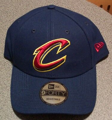 6a83f9642bd Cleveland Cavaliers New Era 9FORTY NBA League Adjustable Strap Hat Cap Cavs  940
