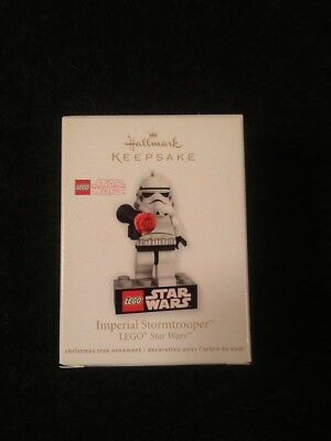 Imperial Stormtrooper Star Wars Lego Hallmark Keepsake Ornament 2012 New In Box
