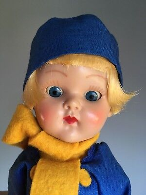 Vintage Vogue Ginny Dutch Boy. Amazing condition and color! Straight Leg Walker