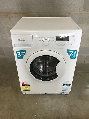 Hisense 7.5kg Front Loader Washing Machine Buy It Now $ = Free Melb Delivery