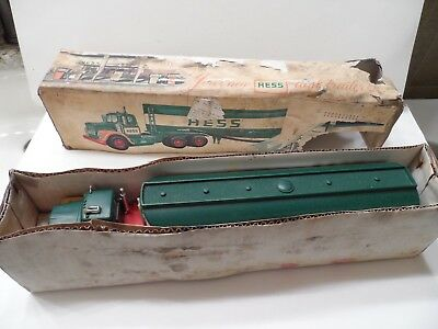 Early Hess Truck With Original Tattered Box