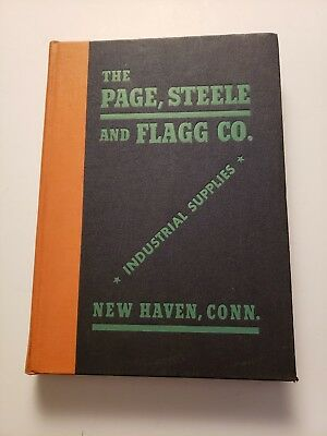 Vintage 1940's Page Steele and Flagg Industrial Suppy Catalog tool hardware