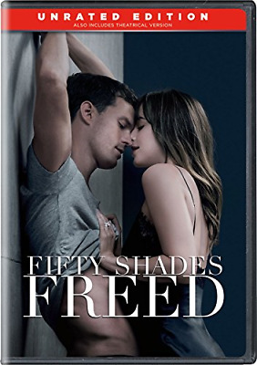 Fifty Shades Freed DVD Unrated Edition Dakota Johnson (Actor), Jamie Dornan