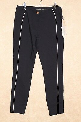 Ivanka Trump Women's Dark Navy Blue Flat Front Dress / Career Pants ______ B10F3