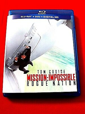 Mission: Impossible:Rogue Nation OOP Mint 2 Blu-ray/DVD Target combo Tom Cruise