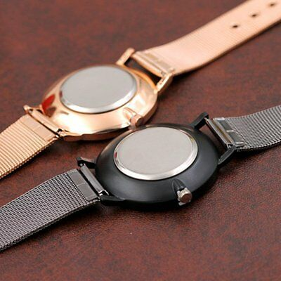 Wire Mesh Belt Fashion Casual Luxury Analog Quartz Watch Woman Watch OP