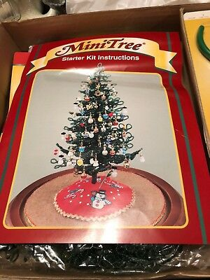 Vntg '99 Westrim Crafts Glass Beaded Mini Christmas tree Holiday starter kit NEW