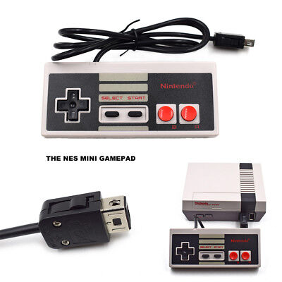 Wired Controller For Nintendo Mini NES Classic Edition Console Gamepad 1.2M