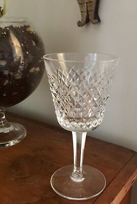 """Waterford Crystal Alana Pattern White Wine 6"""" Tall"""