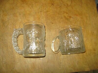 McDONALD'S BATMAN FOREVER GLASSES TWO
