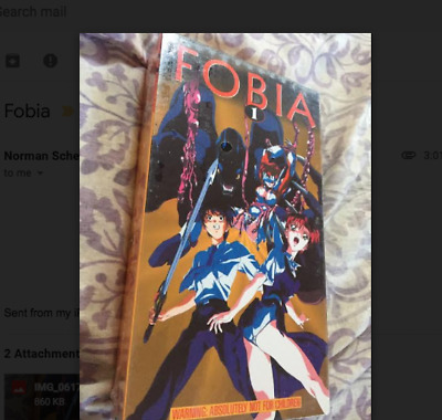 Fobia - Not for Children - Japanese w English Subs - NEW/SEALED
