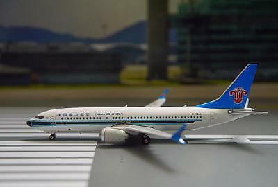 Phoenix 1/400 Diecast Aircraft Model Boeing B737 MAX8,China Southern Air,11437