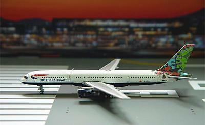 GeminiJets 1/400 Diecast Aircraft Model,BRITISH AIRWAYS,B757-200,GJBAW1695