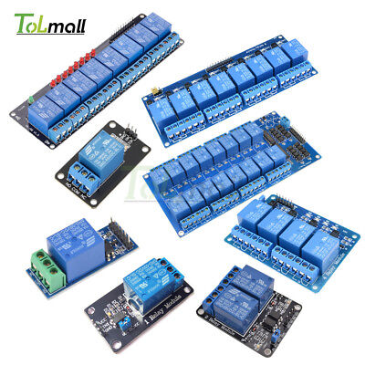 5V 1/2/4/6/8 Channel Relay Module Board Optocoupler LED for Arduino PiC ARM AVR