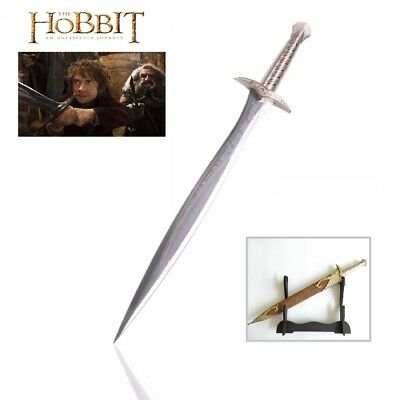 Hobbit The Sting Sword of Frodo/Bilbo Baggins with Scabbard 51cm Replica Golden