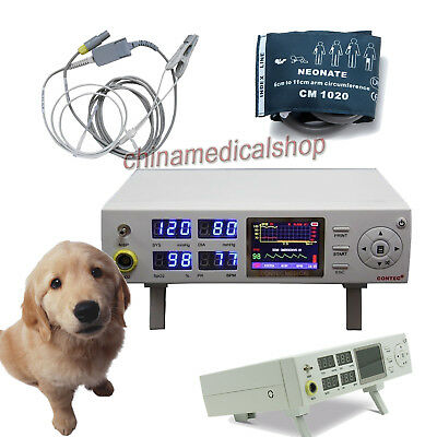 Veterinary Patient Monitor NIBP SPO2 Pulse Rate Measuring For Cat/Dog/Animal use