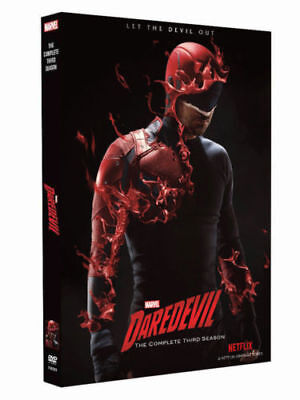 Daredevil Season 3 ( DVD, 2018 4-Disc Set )Brand New Sealed Free shipping