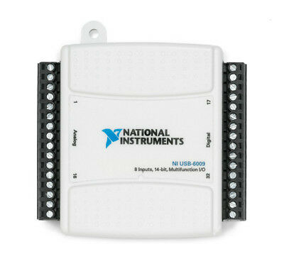 National Instruments NI USB-6009 Data Acquisition Card Multifunction I/O Module