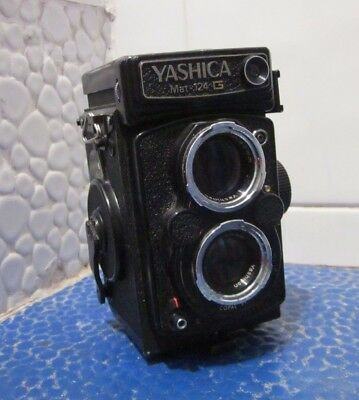 Yashica Mat 124g Film Tested